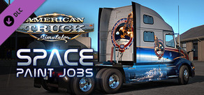 American Truck Simulator - Space Paint Jobs Pack
